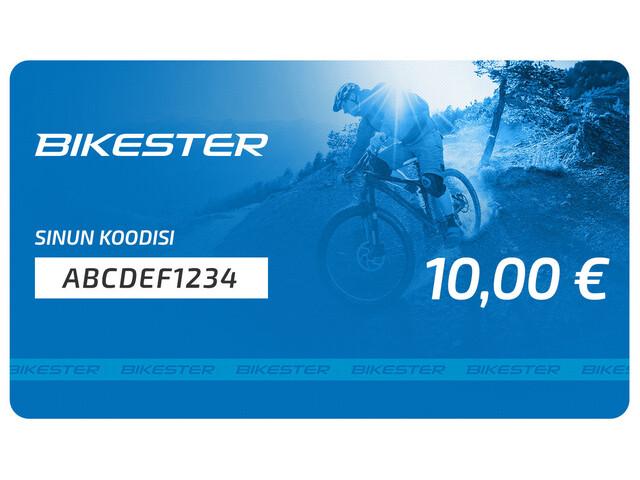 Bikester lahjakortti 10 €